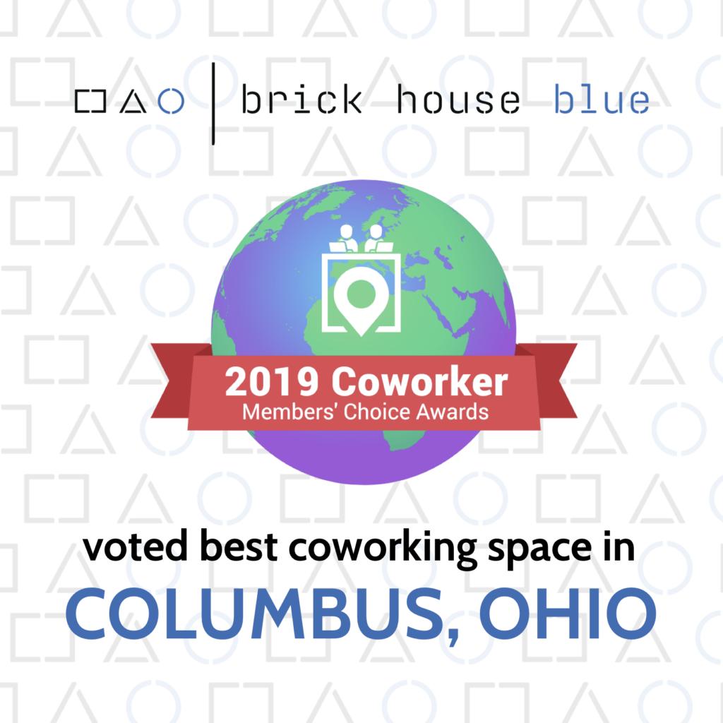 Best Coworking Space in Columbus Award